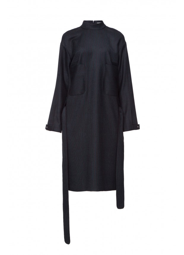Платье в полоску